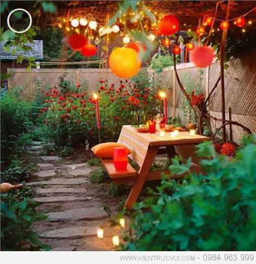 Lắp đèn chiếu sáng cho vườn thêm lung linh 13